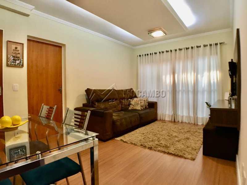 Sala de jantar - Apartamento 3 quartos à venda Itatiba,SP - R$ 250.000 - FCAP30570 - 4