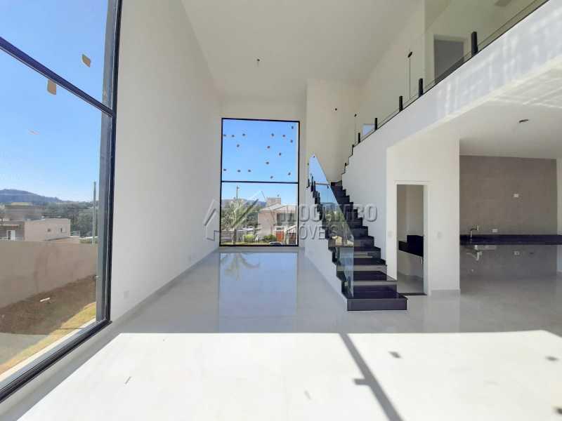 Sala de Jantar . - Casa em Condomínio 3 quartos à venda Itatiba,SP - R$ 1.325.000 - FCCN30478 - 6