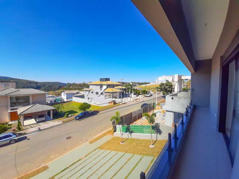 Vista da sacada. - Casa em Condomínio 3 quartos à venda Itatiba,SP - R$ 1.325.000 - FCCN30478 - 21