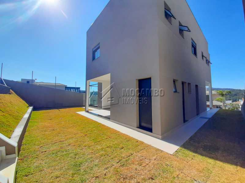 Vista lateral. - Casa em Condomínio 3 quartos à venda Itatiba,SP - R$ 1.325.000 - FCCN30478 - 12