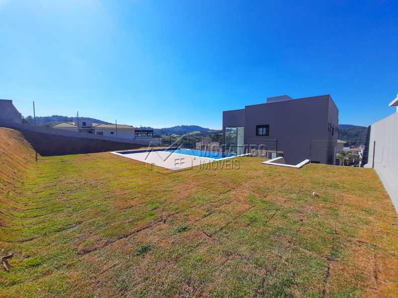 Quintal. - Casa em Condomínio 3 quartos à venda Itatiba,SP - R$ 1.325.000 - FCCN30478 - 23