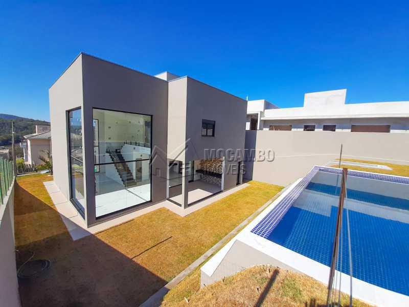 Vista da piscina. - Casa em Condomínio 3 quartos à venda Itatiba,SP - R$ 1.325.000 - FCCN30478 - 26