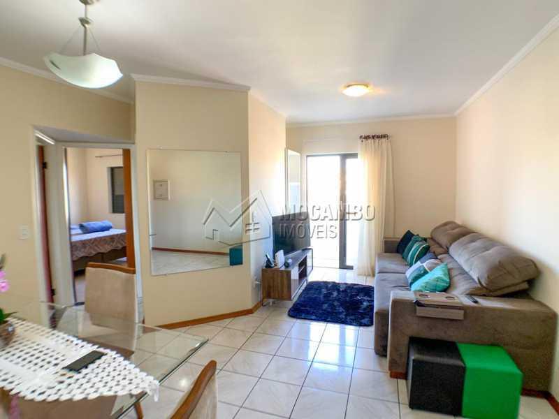 Sala - Apartamento 2 quartos à venda Itatiba,SP - R$ 269.000 - FCAP21137 - 1