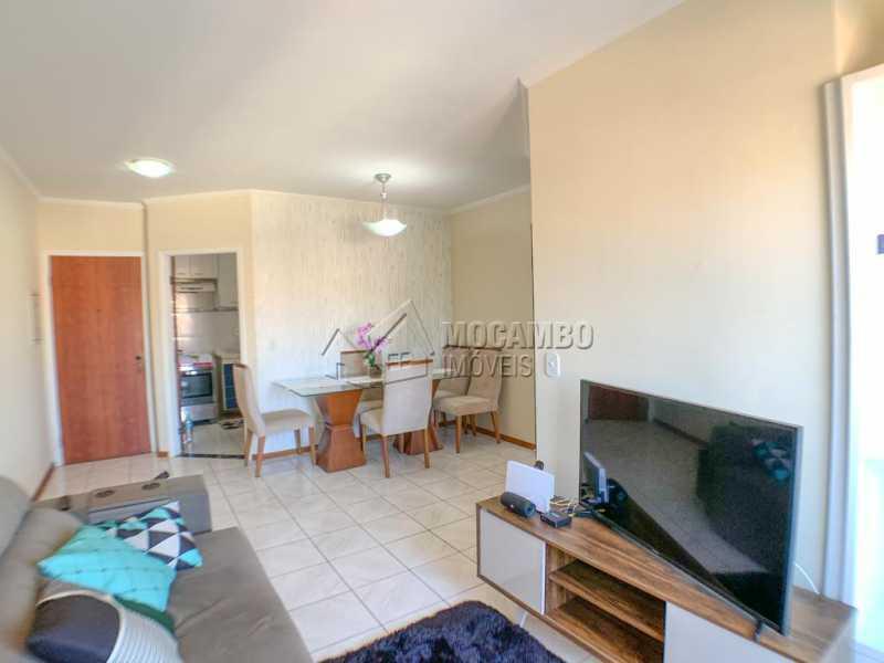 Sala - Apartamento 2 quartos à venda Itatiba,SP - R$ 269.000 - FCAP21137 - 5