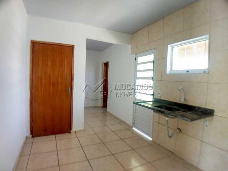 Cozinha - Casa 2 quartos para alugar Itatiba,SP - R$ 900 - FCCA21382 - 1