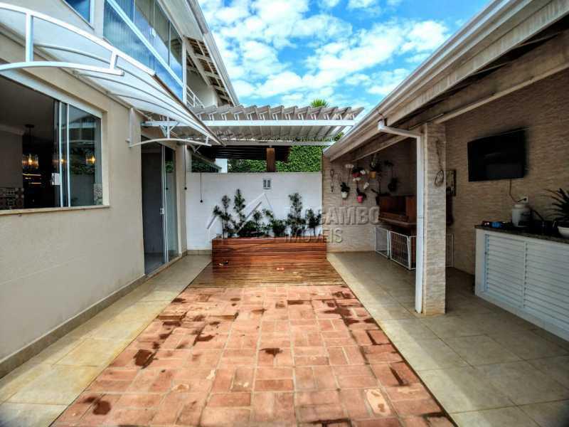 Quintal - Casa em Condomínio 2 quartos à venda Itatiba,SP - R$ 689.000 - FCCN20037 - 26
