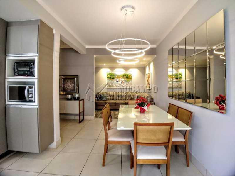 Cozinha - Casa em Condomínio 2 quartos à venda Itatiba,SP - R$ 689.000 - FCCN20037 - 1