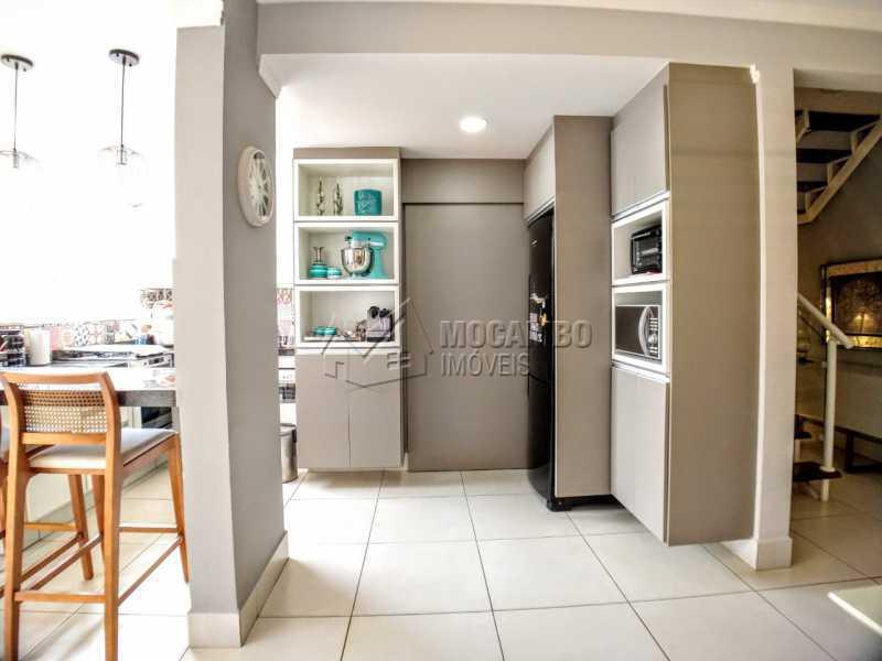 Cozinha - Casa em Condomínio 2 quartos à venda Itatiba,SP - R$ 689.000 - FCCN20037 - 6