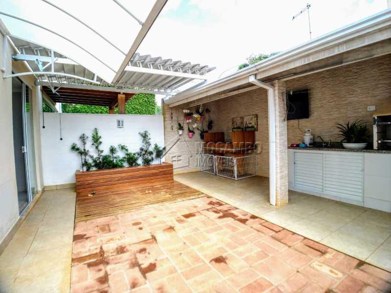 Quintal - Casa em Condomínio 2 quartos à venda Itatiba,SP - R$ 689.000 - FCCN20037 - 28