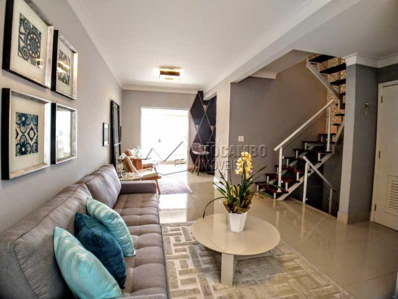 Sala - Casa em Condomínio 2 quartos à venda Itatiba,SP - R$ 689.000 - FCCN20037 - 13