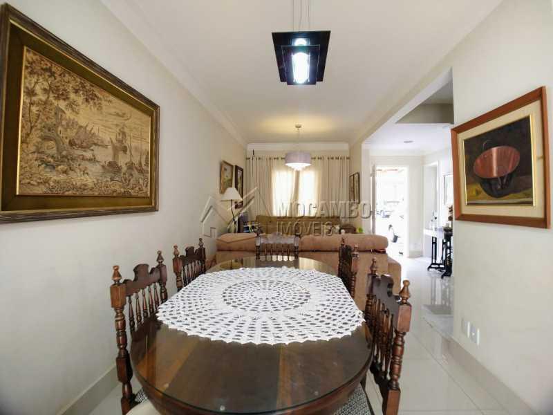 Sala de Jantar - Casa em Condomínio 3 quartos à venda Itatiba,SP - R$ 565.000 - FCCN30482 - 4
