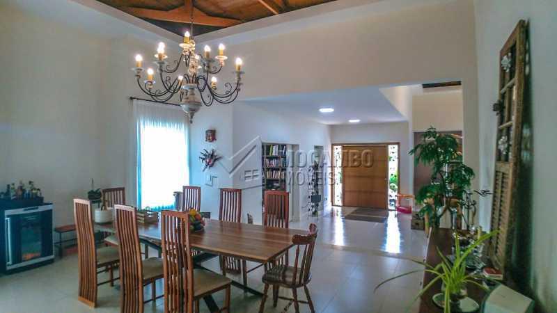 sala de jantar - Casa em Condomínio 4 quartos à venda Itatiba,SP - R$ 3.000.000 - FCCN40167 - 5