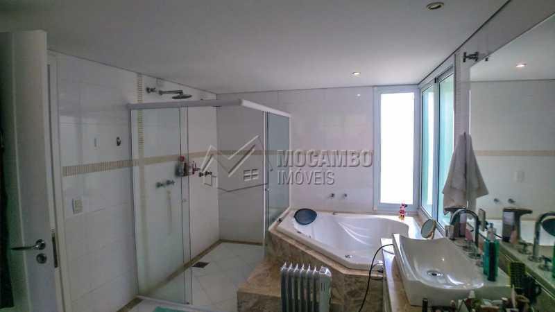 banheiro suite1 - Casa em Condomínio 4 quartos à venda Itatiba,SP - R$ 3.000.000 - FCCN40167 - 16