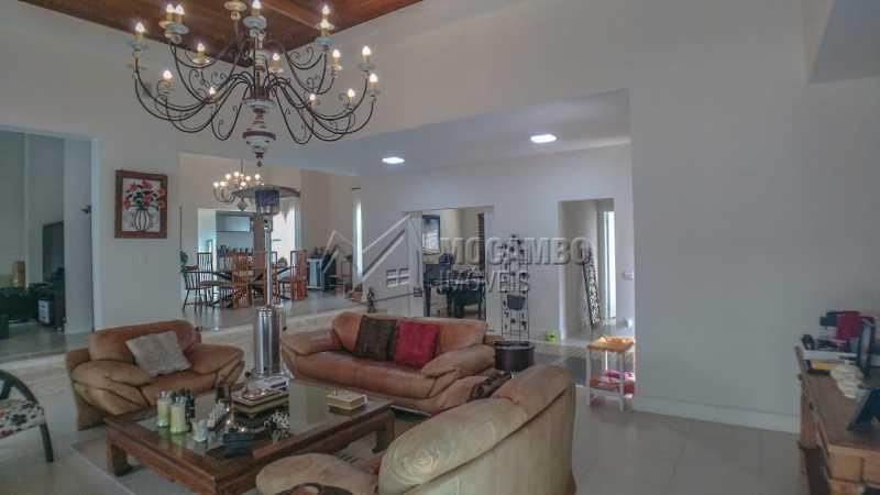 sala de estar - Casa em Condomínio 4 quartos à venda Itatiba,SP - R$ 3.000.000 - FCCN40167 - 3
