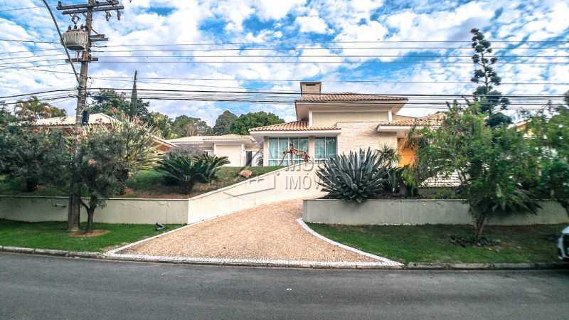 fachada - Casa em Condomínio 4 quartos à venda Itatiba,SP - R$ 3.000.000 - FCCN40167 - 1
