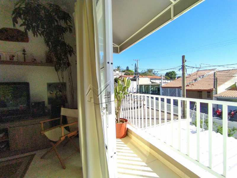 Sala com Sacada - Apartamento 2 quartos à venda Itatiba,SP - R$ 300.000 - FCAP21141 - 4