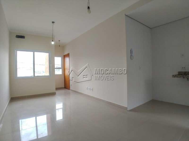 Sala e cozinha - Apartamento 3 quartos à venda Itatiba,SP - R$ 236.000 - FCAP30577 - 1