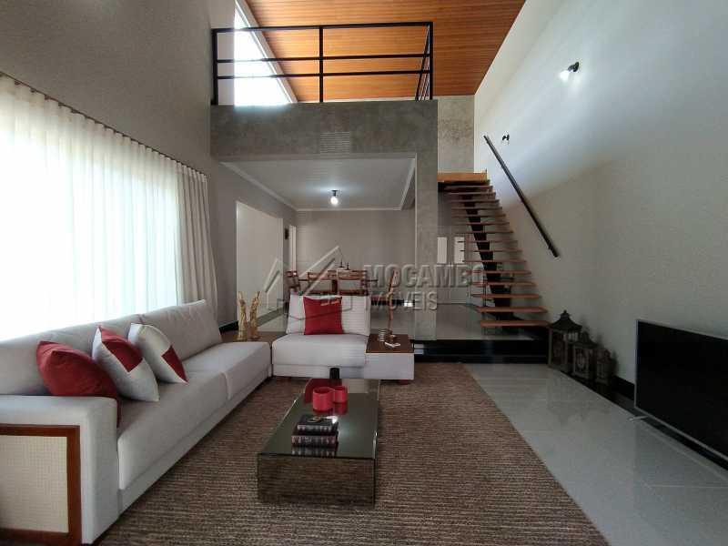 Sala - Casa em Condomínio 3 quartos à venda Itatiba,SP - R$ 1.350.000 - FCCN30490 - 3