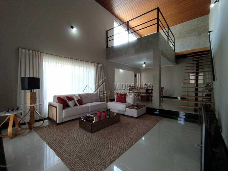 Sala - Casa em Condomínio 3 quartos à venda Itatiba,SP - R$ 1.350.000 - FCCN30490 - 4
