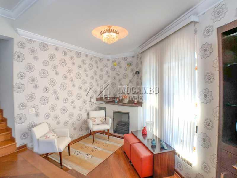 Sala de lareira - Casa 3 quartos à venda Itatiba,SP Nova Itatiba - R$ 920.000 - FCCA31378 - 7