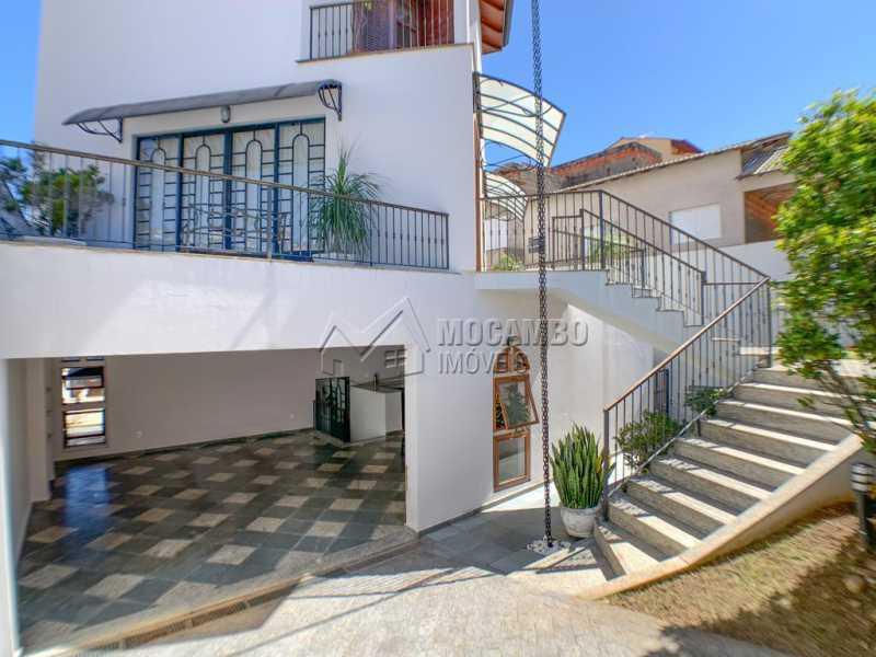 Fachada e garagem - Casa 3 quartos à venda Itatiba,SP Nova Itatiba - R$ 920.000 - FCCA31378 - 1