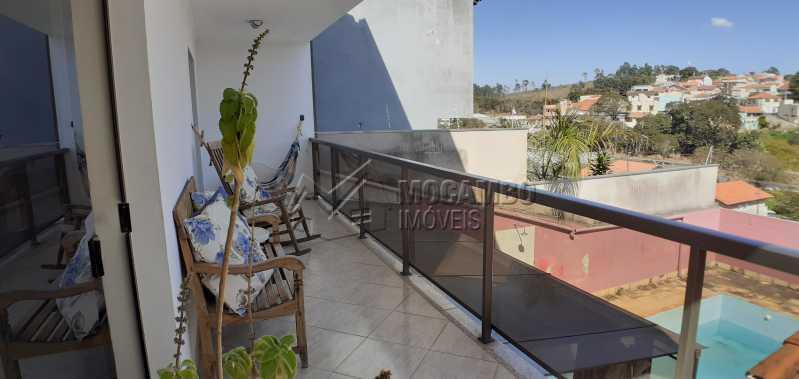 sacada - Casa 3 quartos à venda Itatiba,SP - R$ 600.000 - FCCA31379 - 1