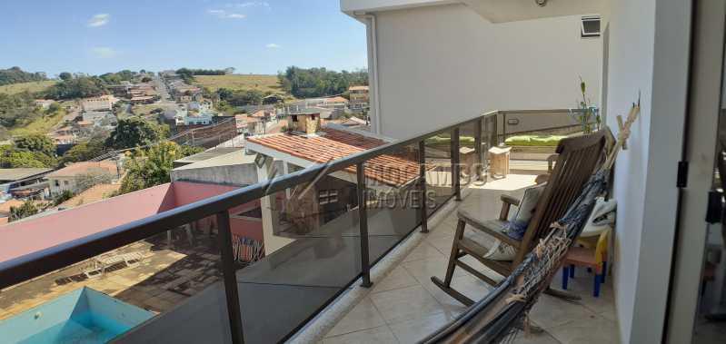 sacada - Casa 3 quartos à venda Itatiba,SP - R$ 600.000 - FCCA31379 - 18