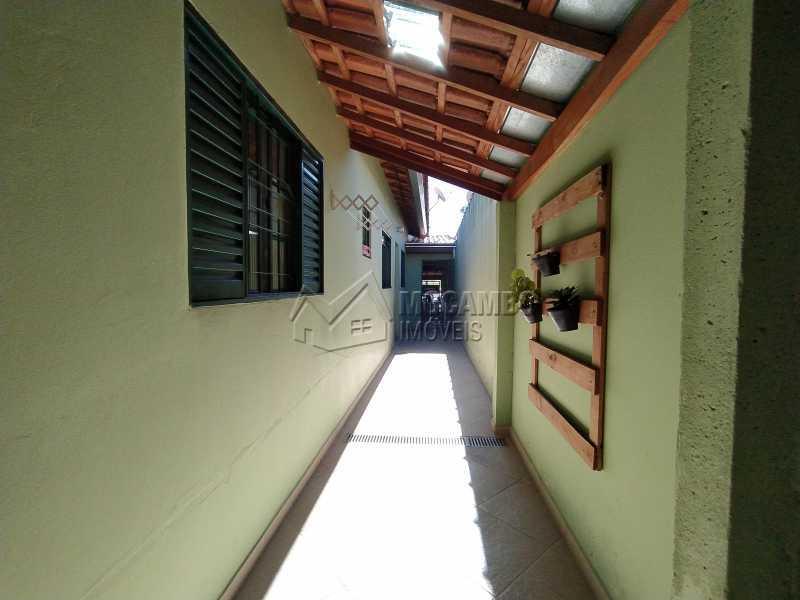 Corredor Externo - Casa 2 quartos à venda Itatiba,SP - R$ 265.000 - FCCA21390 - 9