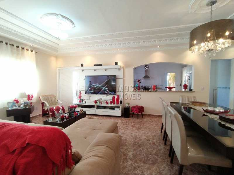 Sala Ambientes - Casa em Condomínio 3 quartos à venda Itatiba,SP - R$ 1.400.000 - FCCN30491 - 6