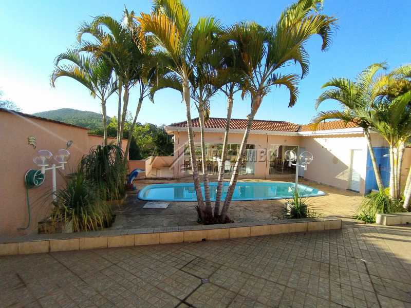 Área Externa - Casa em Condomínio 3 quartos à venda Itatiba,SP - R$ 1.400.000 - FCCN30491 - 1