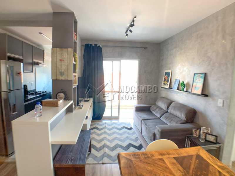 Sala - Apartamento 2 quartos à venda Itatiba,SP - R$ 350.000 - FCAP21153 - 3