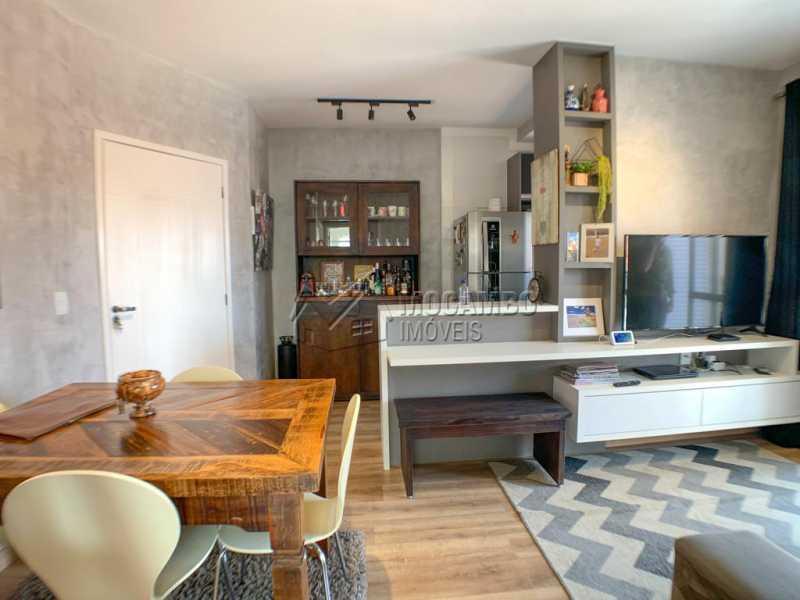 Sala - Apartamento 2 quartos à venda Itatiba,SP - R$ 350.000 - FCAP21153 - 4