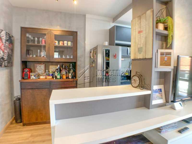 Sala - Apartamento 2 quartos à venda Itatiba,SP - R$ 350.000 - FCAP21153 - 6