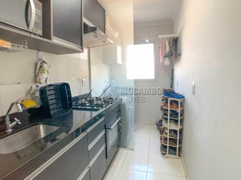 Cozinha/ Lavanderia - Apartamento 2 quartos à venda Itatiba,SP - R$ 350.000 - FCAP21153 - 17