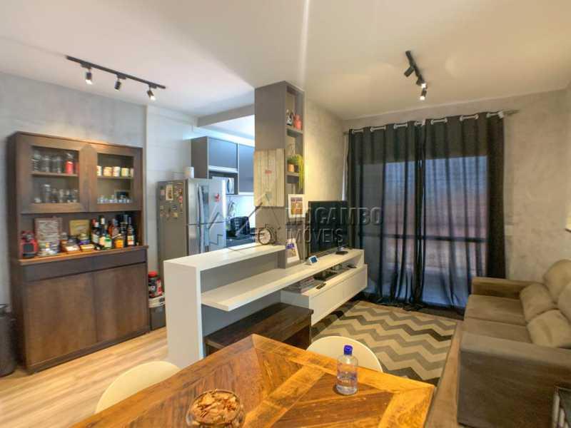 Sala - Apartamento 2 quartos à venda Itatiba,SP - R$ 350.000 - FCAP21153 - 1