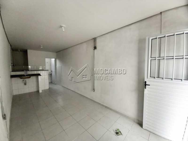 Quarto e Cozinha - Casa 1 quarto para alugar Itatiba,SP Centro - R$ 550 - FCCA10291 - 1