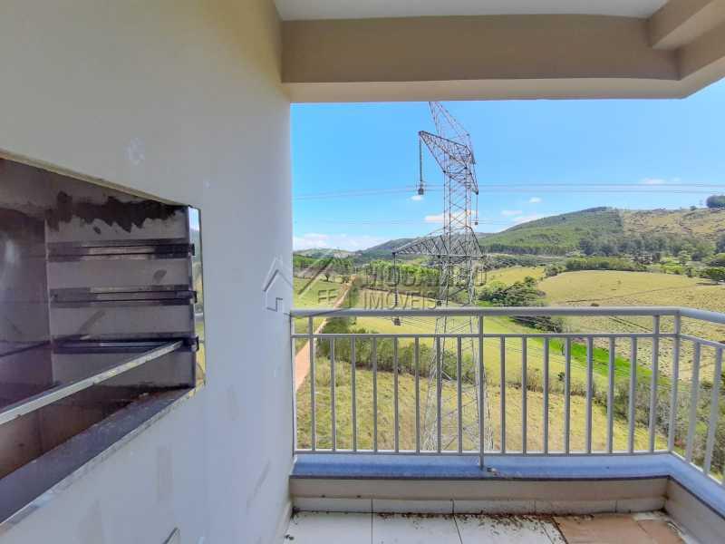 VARANDA - Apartamento 2 quartos à venda Itatiba,SP - R$ 250.000 - FCAP21160 - 5