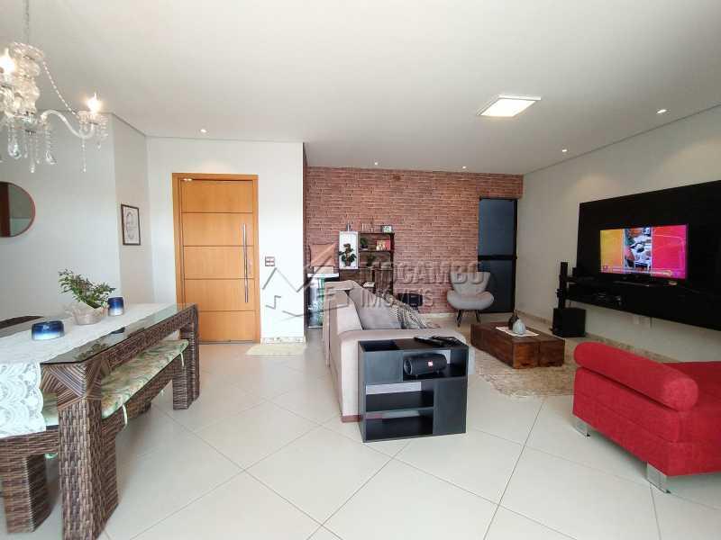 Salas Ambientes - Casa em Condomínio 3 quartos à venda Itatiba,SP - R$ 1.100.000 - FCCN30499 - 5