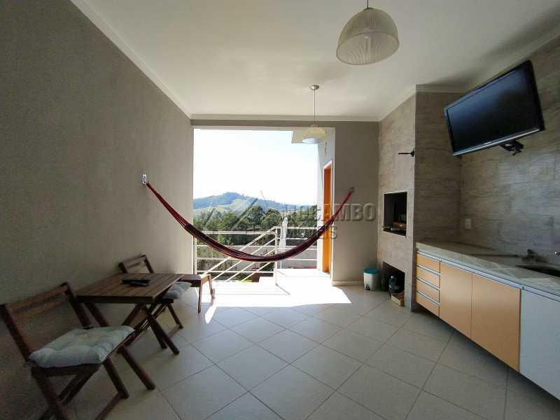 Área Gourmet - Casa em Condomínio 3 quartos à venda Itatiba,SP - R$ 1.100.000 - FCCN30499 - 10