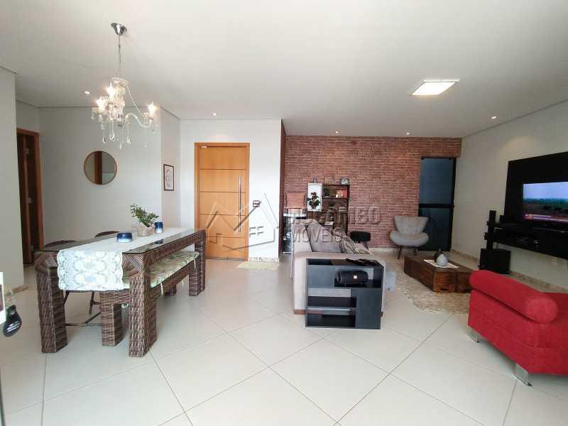 Salas Ambientes - Casa em Condomínio 3 quartos à venda Itatiba,SP - R$ 1.100.000 - FCCN30499 - 4