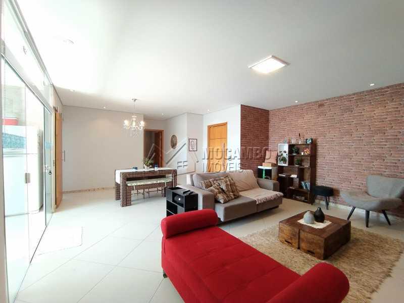 Salas Ambientes - Casa em Condomínio 3 quartos à venda Itatiba,SP - R$ 1.100.000 - FCCN30499 - 3