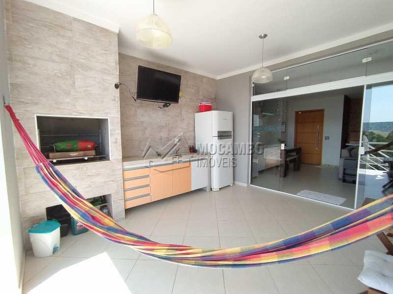 Área Gourmet - Casa em Condomínio 3 quartos à venda Itatiba,SP - R$ 1.100.000 - FCCN30499 - 11