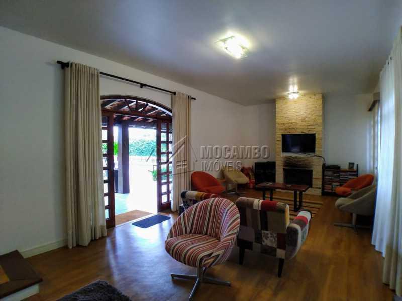 Duas salas de estar integradas - Casa em Condomínio 3 quartos à venda Itatiba,SP - R$ 1.890.000 - FCCN30500 - 9
