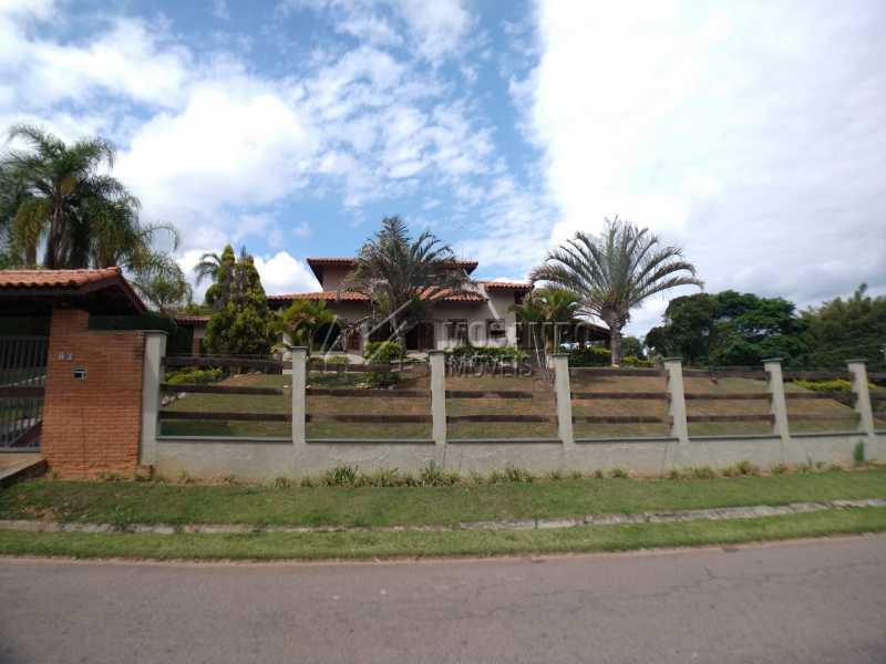 Fachada - Casa em Condomínio 4 quartos para venda e aluguel Itatiba,SP - R$ 9.000 - FCCN40171 - 1
