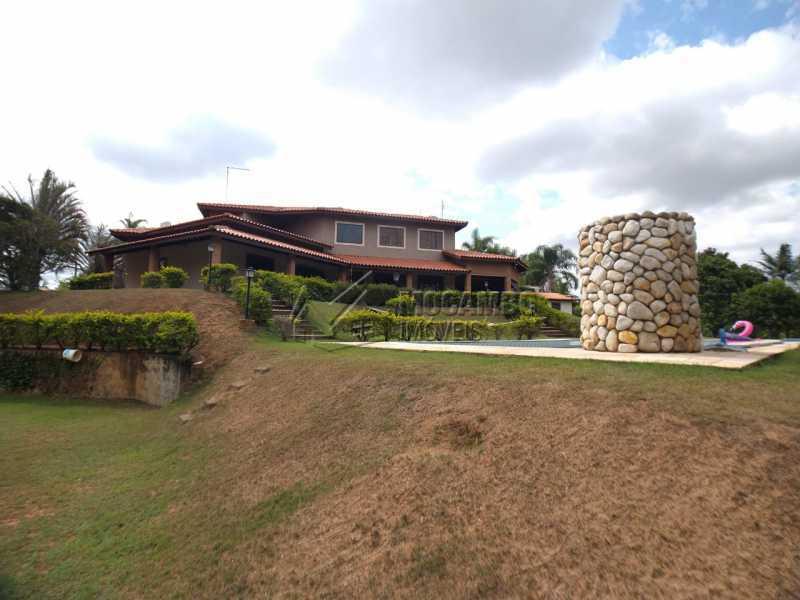 Área externa - Casa em Condomínio 4 quartos para venda e aluguel Itatiba,SP - R$ 9.000 - FCCN40171 - 6