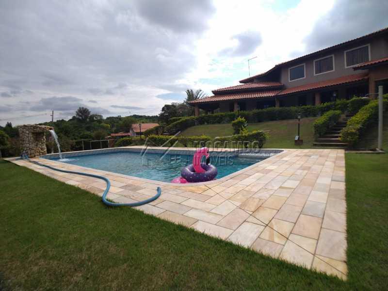 Piscina - Casa em Condomínio 4 quartos para venda e aluguel Itatiba,SP - R$ 9.000 - FCCN40171 - 10