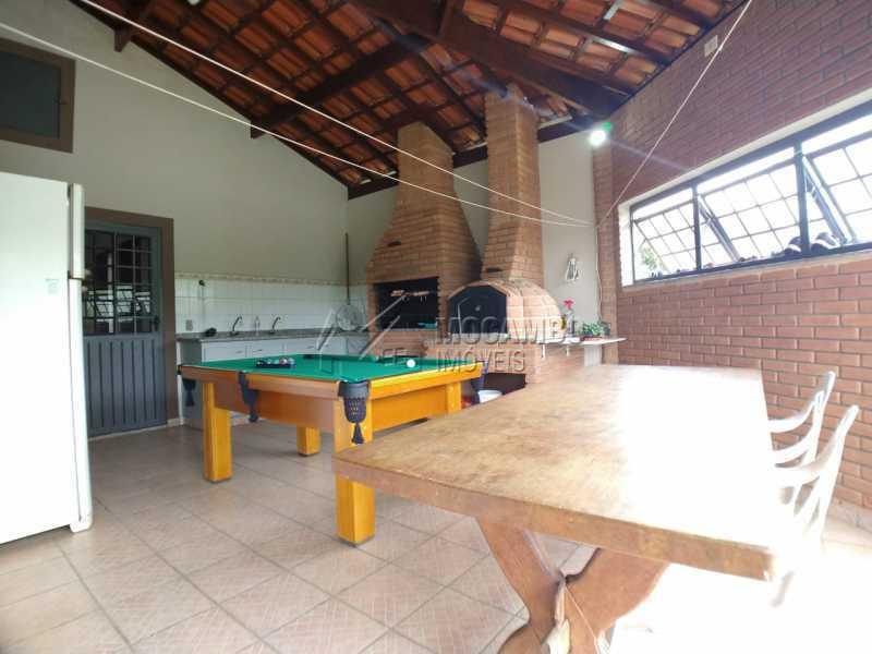 Churrasqueira - Casa em Condomínio 4 quartos para venda e aluguel Itatiba,SP - R$ 9.000 - FCCN40171 - 11