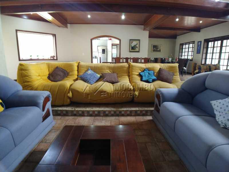 Sala de estar - Casa em Condomínio 4 quartos para venda e aluguel Itatiba,SP - R$ 9.000 - FCCN40171 - 15