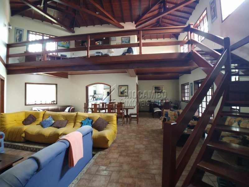 Sala de estar - Casa em Condomínio 4 quartos para venda e aluguel Itatiba,SP - R$ 9.000 - FCCN40171 - 16