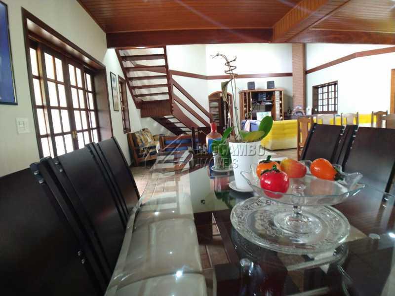 Sala de jantar - Casa em Condomínio 4 quartos para venda e aluguel Itatiba,SP - R$ 9.000 - FCCN40171 - 17
